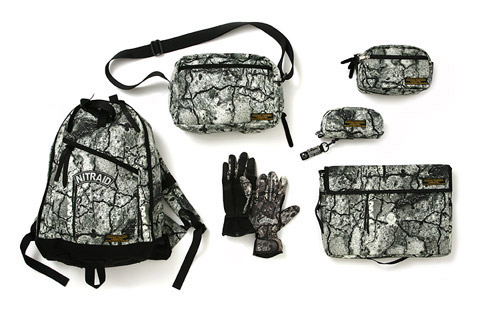 """Nitraid 2008 Fall/Winter """"Real Stoned Camo"""" Collection"""