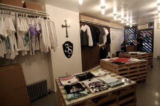 3sixteen Pop-Up Shop at the Reed Space Annex NYC