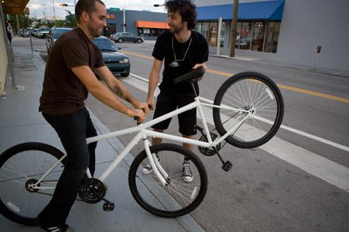 See Saw Bike by Elad Barouch