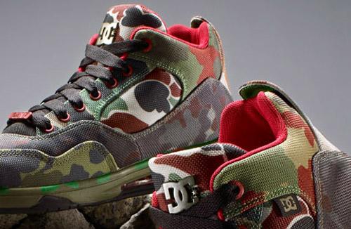 SSUR x DC Shoes Artist Projects™ Series Camo