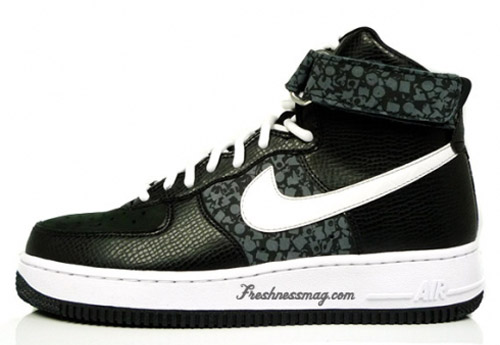 "Stash Nike Air Force 1 High ""Fat Cap"""