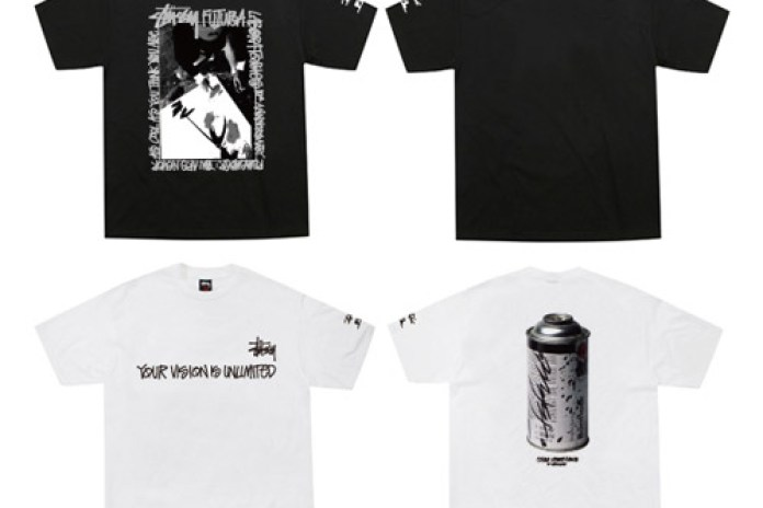 Stussy x Futura Laboratories 10th Anniversary T-shirts
