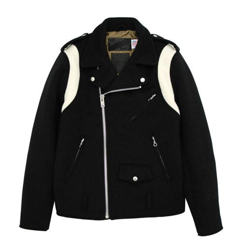 Stussy x Schott Wool Onestar Jacket