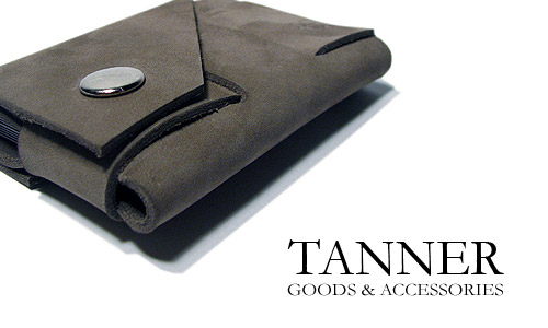 Tanner Goods London Tan | Stone Grey Suede Cardholders