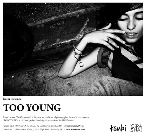"The Cobrasnake ""Too Young"" Exhibition"