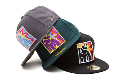 The Hundreds 2008 Holiday New Era 59FIFTY Collection