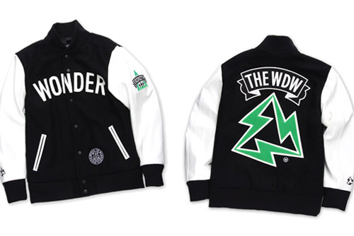 The Wonderful! Design works. x Beams T Varsity Jacket