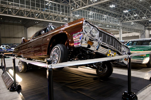 Tokyo Lowrider Exhibition at the Makuhari Convention Center
