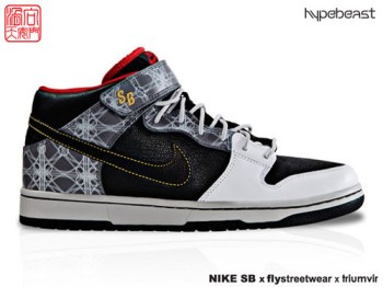 Triumvir x Fly x Nike SB Dunk Mid Beijing