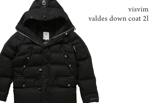 Visvim Valdez Down Coat 2L