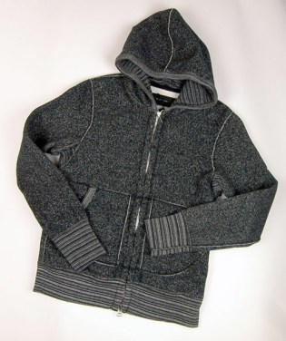 wings + horns 2008 Fall/Winter Tiger Fleece Hoodie