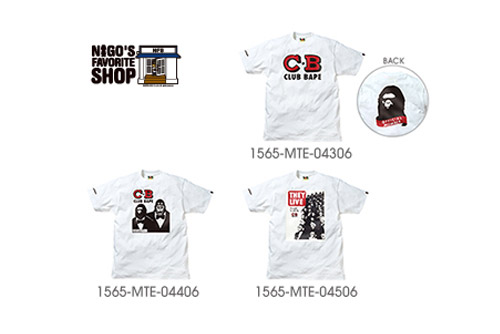 WTAPS x Nigo's Favorite Shop Tees