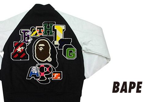 A Bathing Ape NFS Varsity Jacket