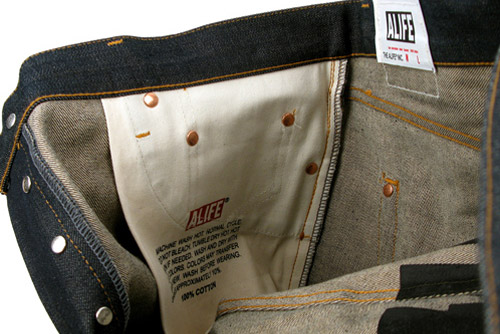 ALIFE 5-Pocket Raw Selvedge Denim
