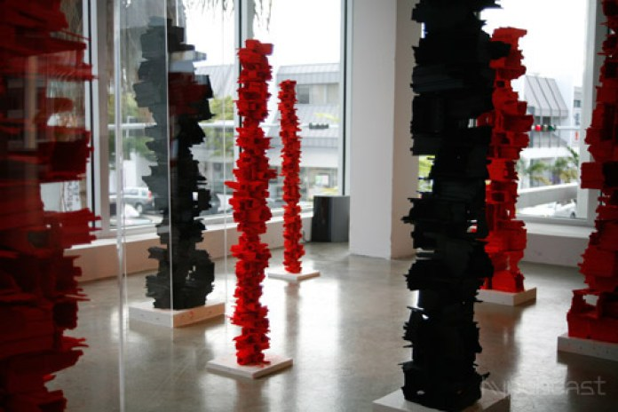 "Art Basel Miami 2008 - Arne Quinze ""Sculptures"" Exhibition"