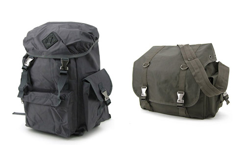 BASECONTROL Backpack & Messenger Bags