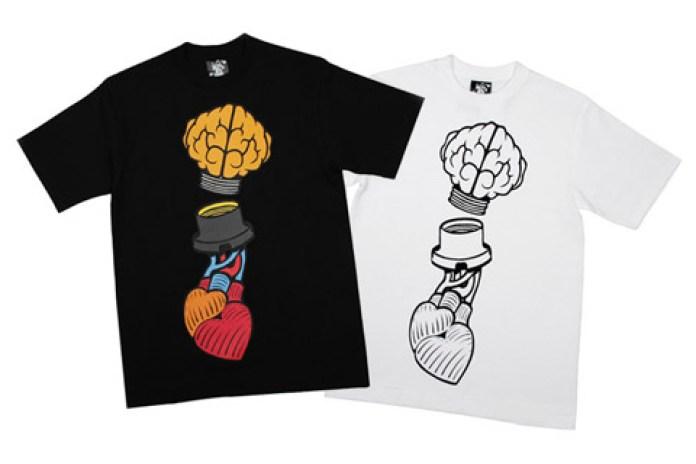 "BBC | Ice Cream ""Heart & Mind"" T-shirt"