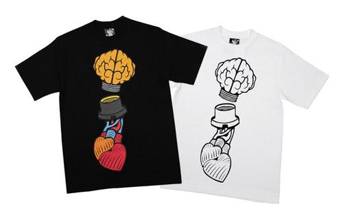 "BBC   Ice Cream ""Heart & Mind"" T-shirt"