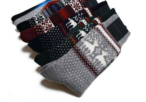 United Arrows Beauty & Youth Holiday Socks