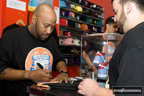 Bun B x The Hundreds T-shirt Release