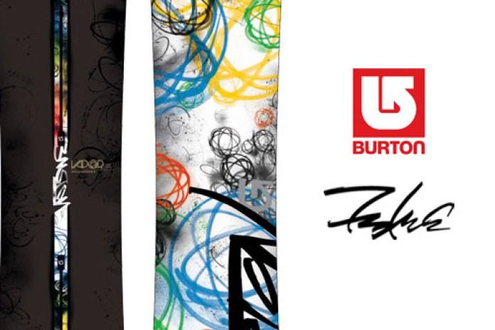 Futura x Burton Vapor Snowboard