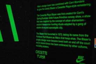 Cassette Playa x Nike Blazer Installation & Recap