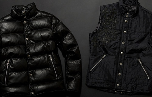 Chrome Hearts Down Jacket | Nylon Vest