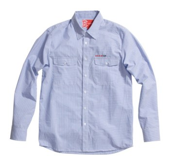 CLOT C.S.A. Collection - Invertical Button Up Shirt C & Reflective Windbreaker