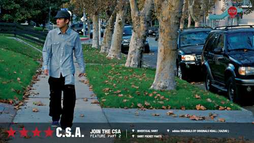 CLOT C.S.A. 2008 Fall/Winter Lookbook Part 2