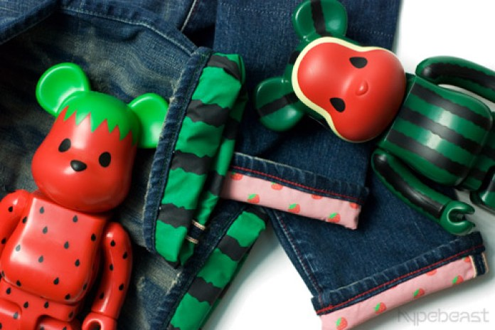 CLOT x Medicom Toy x Levi's Watermelon & Strawberry Denim