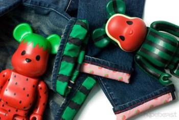 CLOT x Medicom Toy x Levi's Watermelon & Strawberry Denim
