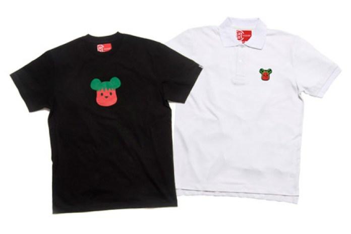 Medicom Toy x CLOT Strawberry & Watermelon Polo | T-shirt