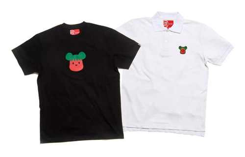Medicom Toy x CLOT Strawberry & Watermelon Polo | T-shirt