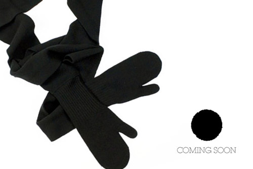 Coming Soon by Yohji Yamamoto Scarf & Glove Combo