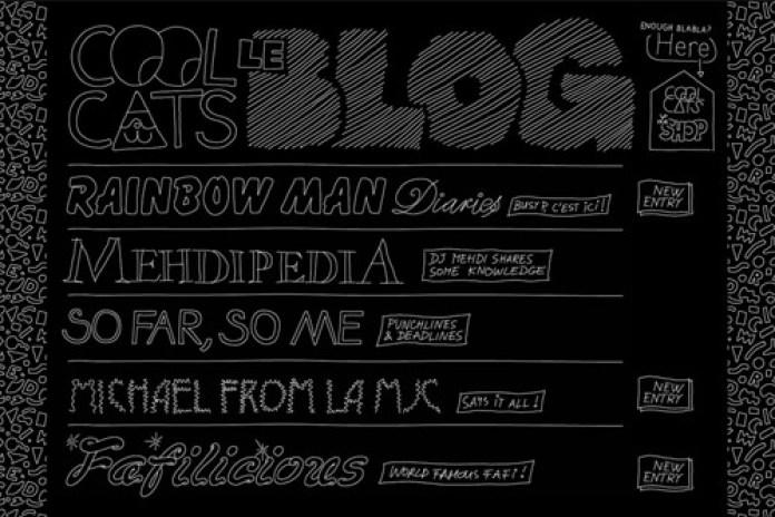 "Cool Cats ""Le Blog"" Launch"