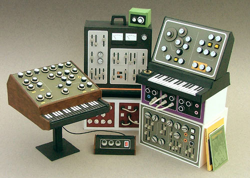 Dan McPharlin's Mini Retro Synthesizers