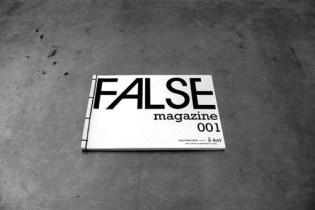 """FALSE Magazine: Issue 001 """"X-Ray"""""""