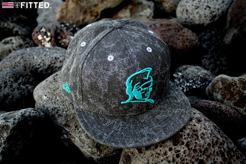 Fitted Hawaii Keith Haring Inspired Cap