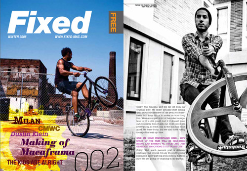 Fixed Magazine #002 Winter 2008 Issue