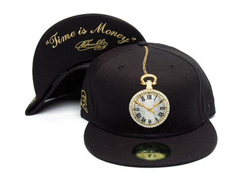 "Frank151 x New Era 59FIFTY ""Time is Money"" Fitted Cap"