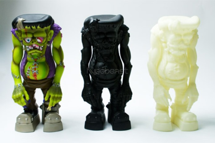 "Johnny Ace Studio x Made by Monsters ""BlackOut"" FrankenFink"