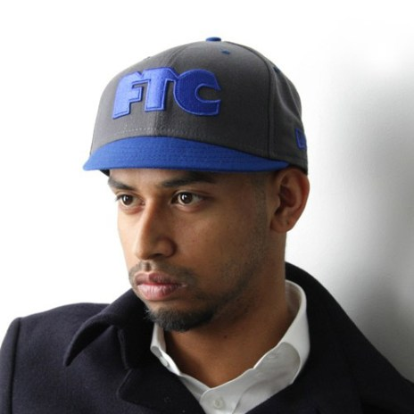 FTC x New Era OG Logo 505 Fitted Cap