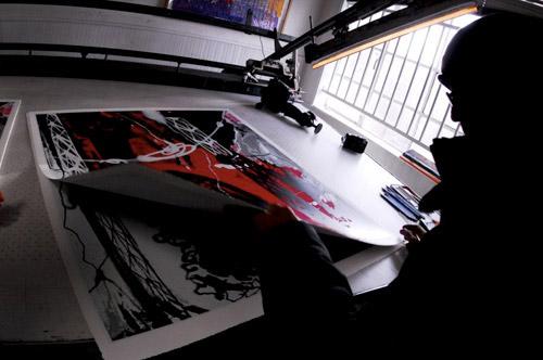 Futura Krunk Canvas Prints - Behind the Scenes