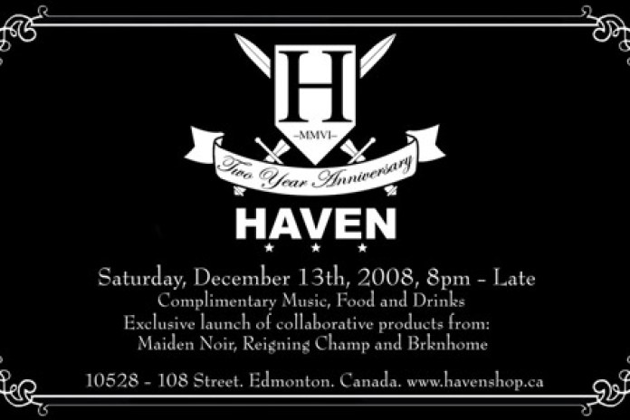 Haven 2 Year Anniversary Party