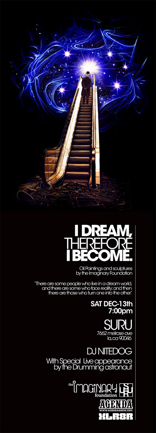 """Imaginary Foundation """"I Dream, Therefore I Become"""" Exhibition"""