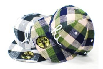 In4mation Buffalo Plaid New Era Caps