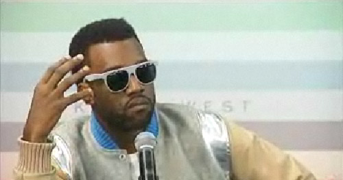 Kanye West News Conference in New Zealand