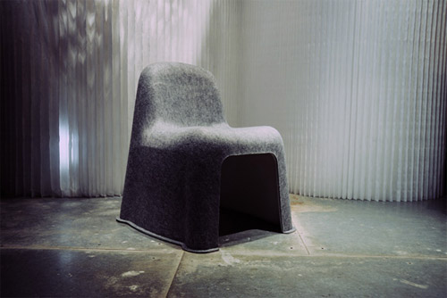 Komplot Design - Nobody Chair for Hay