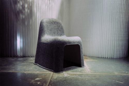 Komplot Design - Nobody Chair for Hay