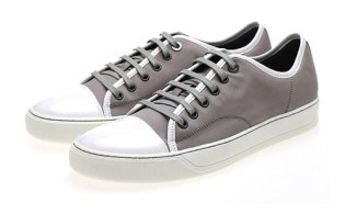 Lanvin Leather Tennis Sneakers